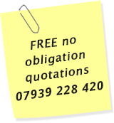 Phone any time for a free Mastic quotation Matthew 07939 228 420