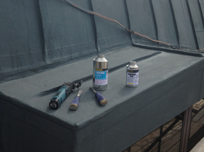 commercial mastic removal'